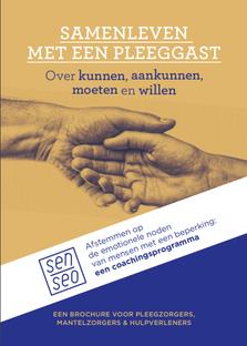 Cover-afbeelding brochure Samenleven met een pleeggast