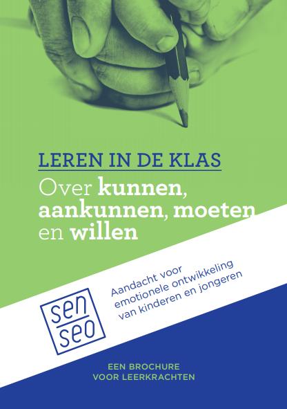 Cover van brochure